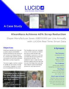 KleanNara 40% Scrap Rate Reduction